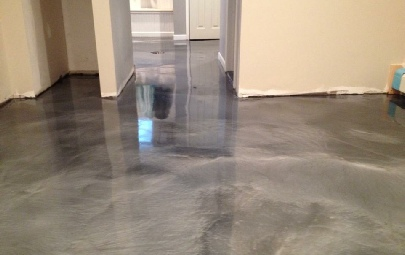 Metal Illusion Epoxy Floors